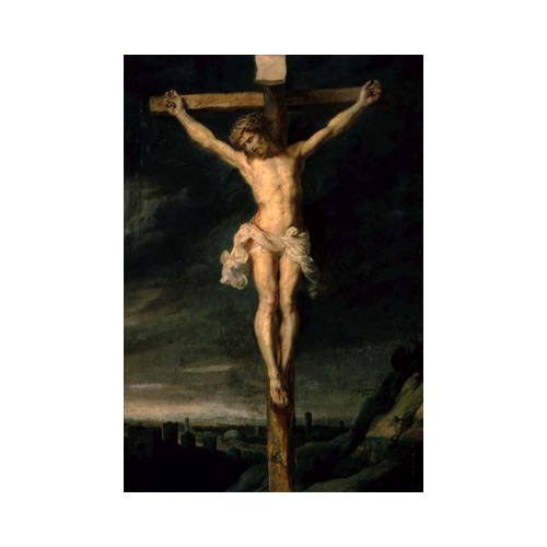 Art answer: THE-CRUCIFIXION
