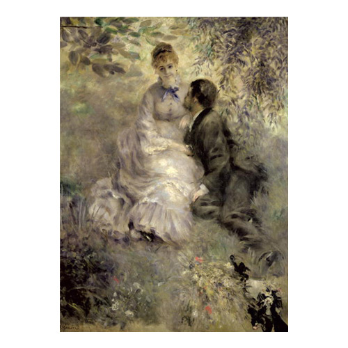 Art answer: THE LOVERS