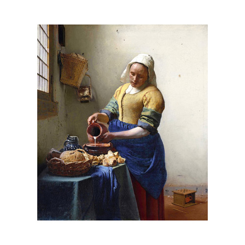 Art answer: THE-MILKMAID