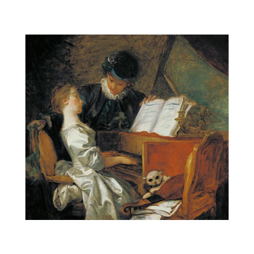 Art answer: THE MUSIC LESSON