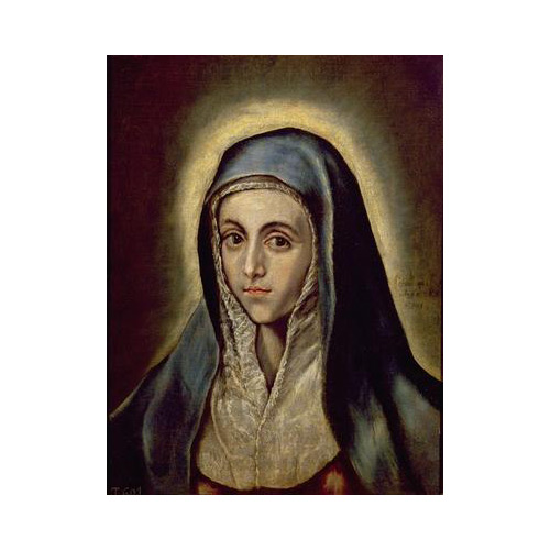 Art answer: THE VIRGIN MARY