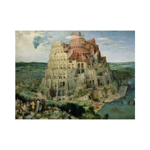 Art answer: TOWER OF BABEL