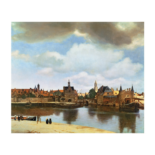 Art answer: VIEW OF DELFT