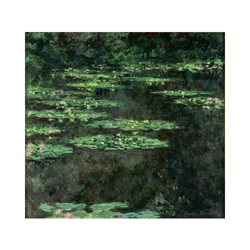 Art answer: WATER LILIES