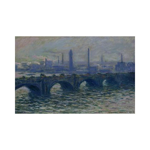 Art answer: WATERLOO BRIDGE