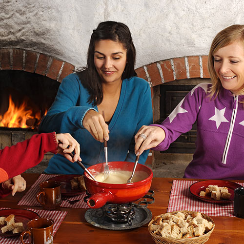 Autumn answer: FONDUE
