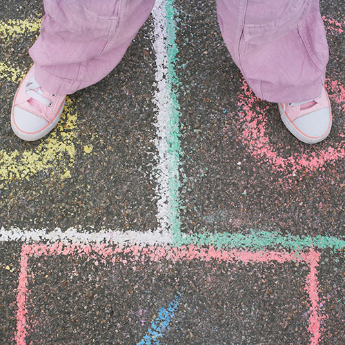 Autumn answer: HOPSCOTCH
