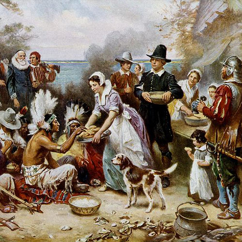 Autumn answer: THANKSGIVING