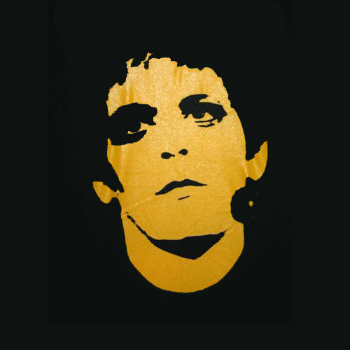 Band Logos answer: LOU REED