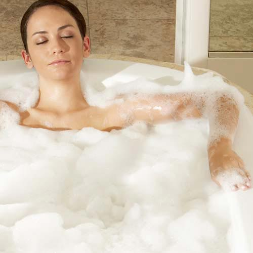 B is for... answer: BUBBLE BATH