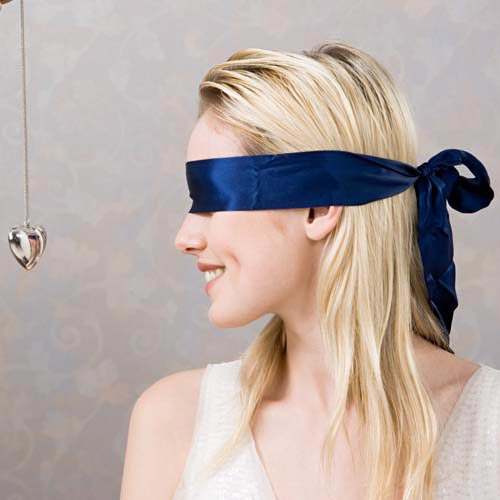 B is for... answer: BLINDFOLD