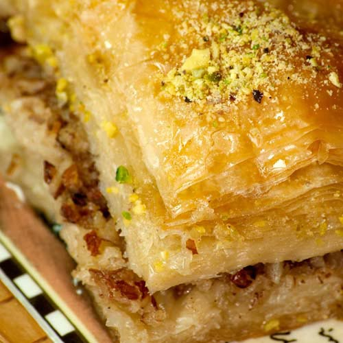 B is for... answer: BAKLAVA