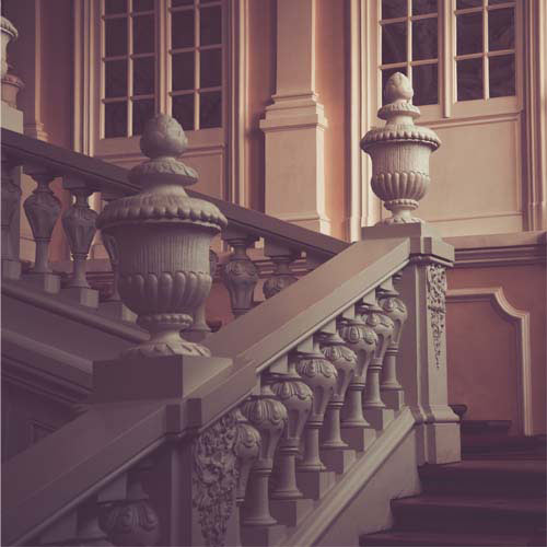 B is for... answer: BALUSTRADE