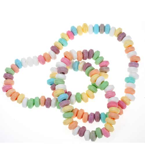 Candy answer: CANDY NECKLACE