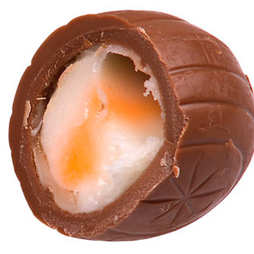 Candy answer: CREME EGG