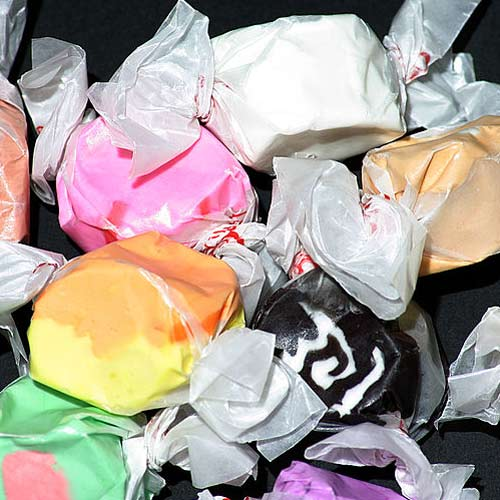 Candy answer: SALT WATER TAFFY