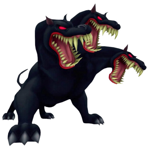 Cartoons answer: CERBERUS
