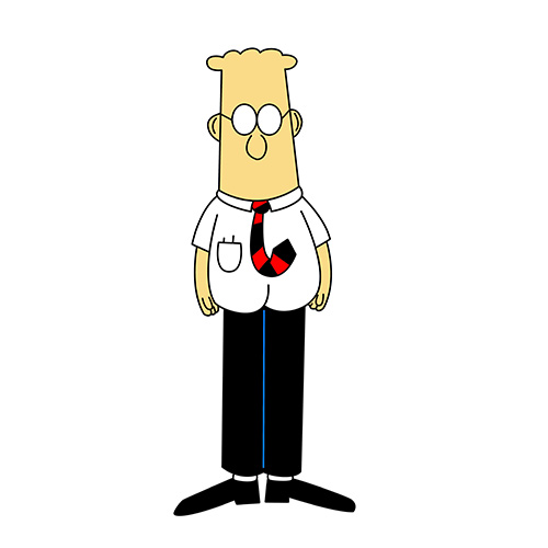 Cartoons answer: DILBERT