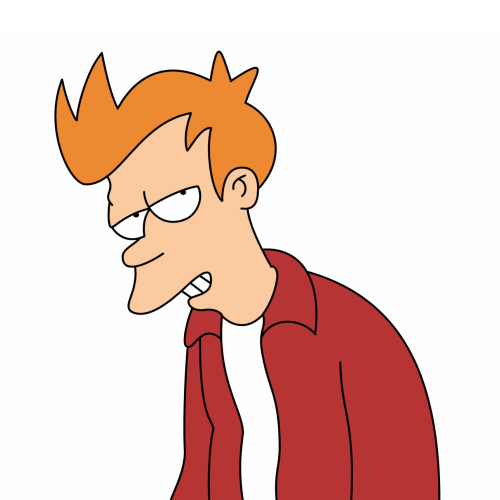Cartoons answer: FRY