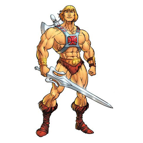 Cartoons answer: HE-MAN