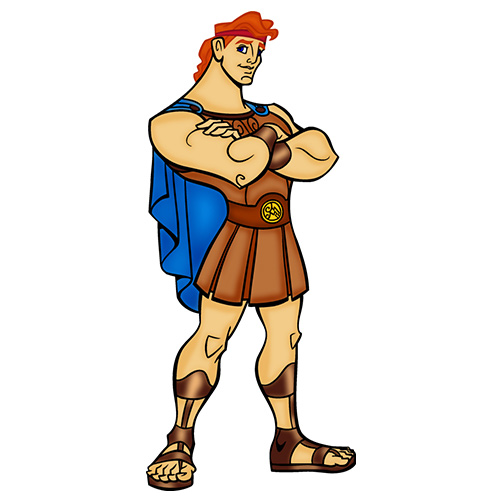 Cartoons answer: HERCULES