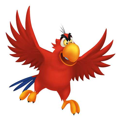 Cartoons answer: IAGO