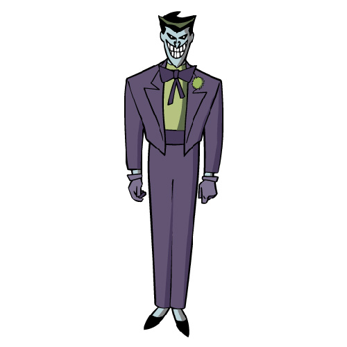 Cartoons answer: JOKER