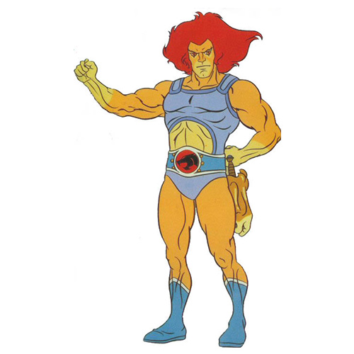 Cartoons answer: LION-O
