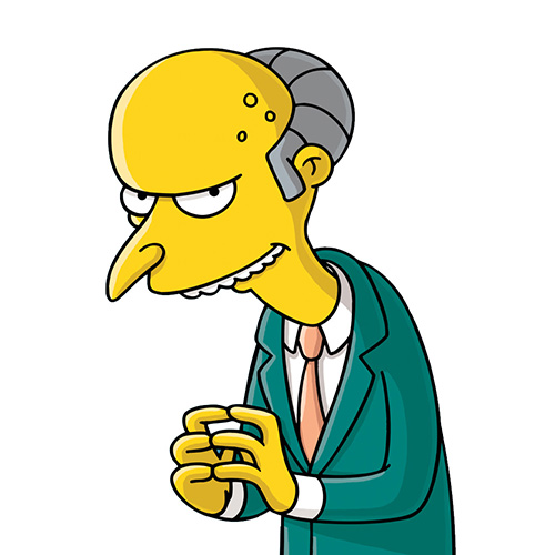 Cartoons answer: MR BURNS