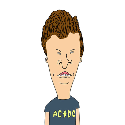 Cartoons 2 answer: BUTTHEAD