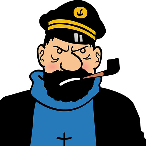 Cartoons 2 answer: CAPTAIN HADDOCK