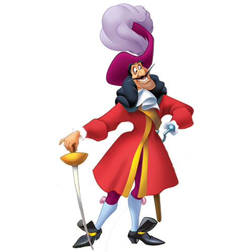 Cartoons 2 answer: CAPTAIN HOOK