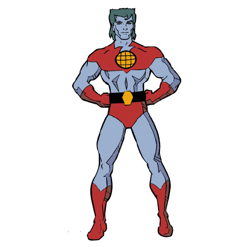 Cartoons 2 answer: CAPTAIN PLANET