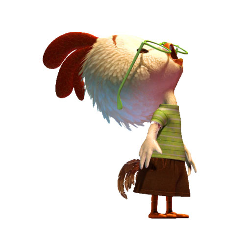 Cartoons 2 answer: CHICKEN LITTLE