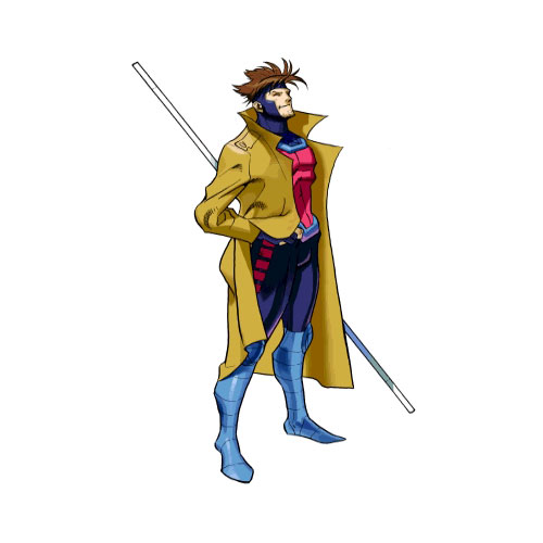 Cartoons 2 answer: GAMBIT
