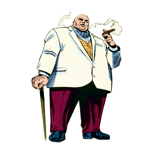 Cartoons 2 answer: KINGPIN
