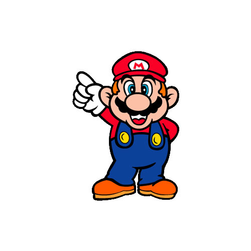 Cartoons 2 answer: MARIO