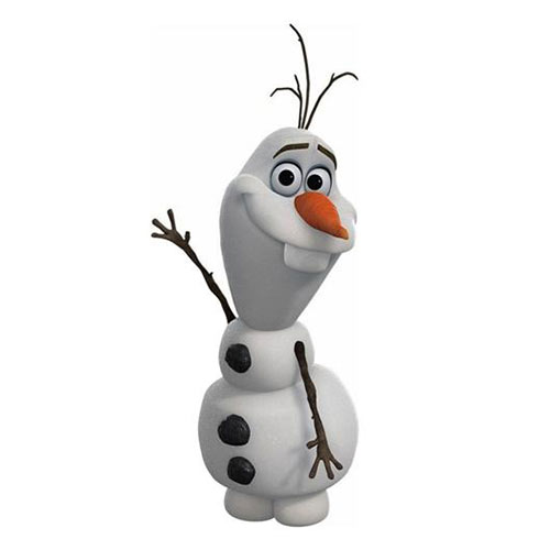 Cartoons 2 answer: OLAF