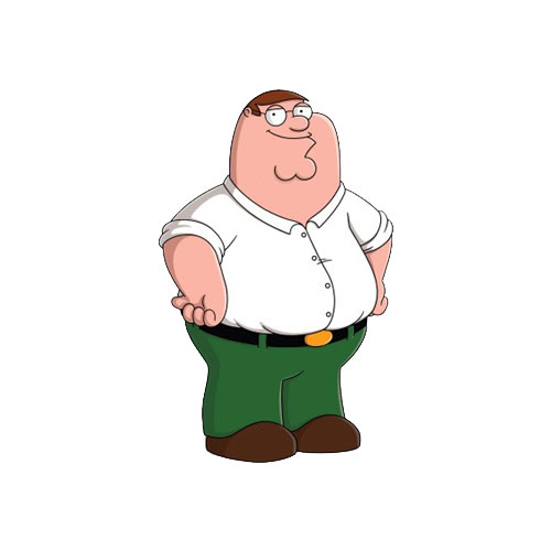 Cartoons 2 answer: PETER GRIFFIN