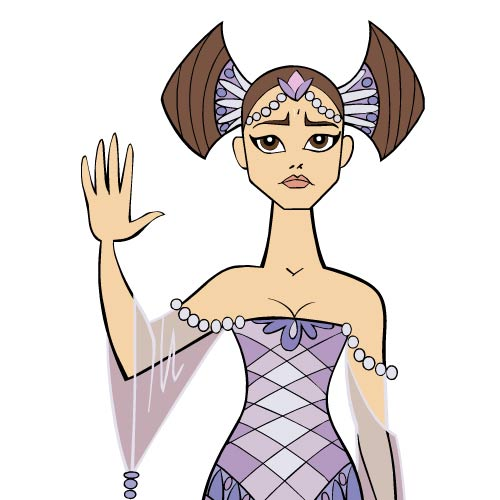 Cartoons 2 answer: QUEEN AMIDALA