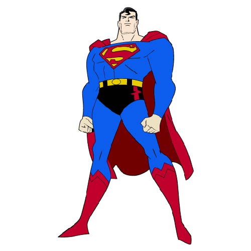 Cartoons 2 answer: SUPERMAN