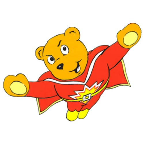 Cartoons 2 answer: SUPERTED