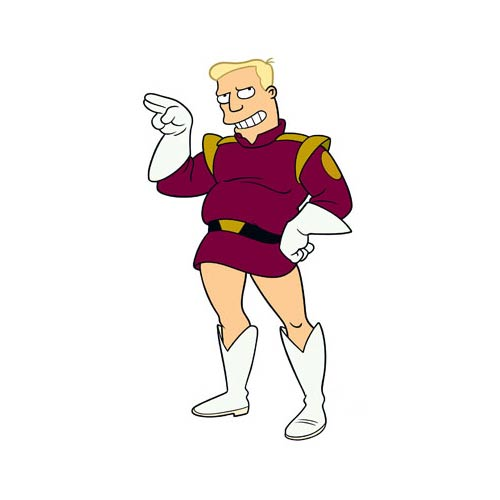 Cartoons 2 answer: ZAPP BRANNIGAN