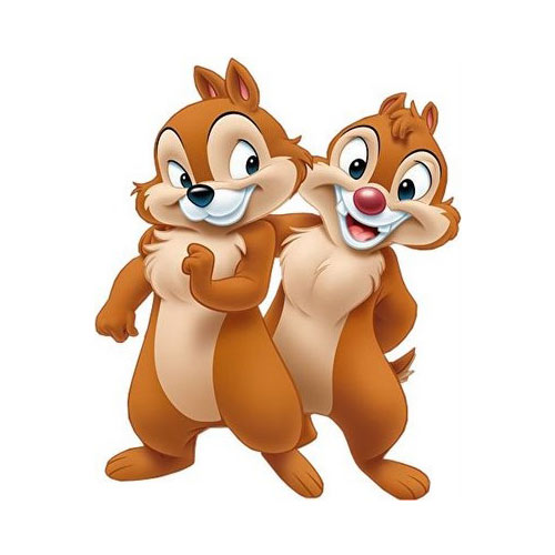 Cartoons 3 answer: CHIP `N` DALE