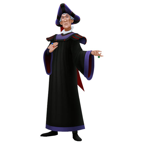 Cartoons 3 answer: CLAUDE FROLLO