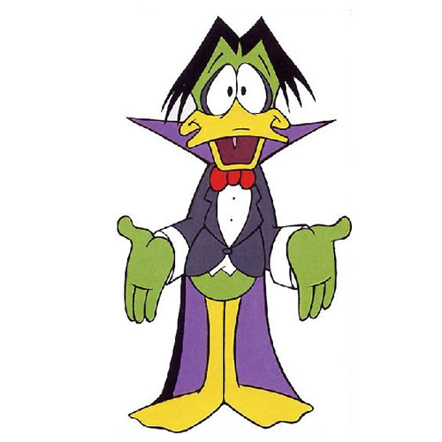 Cartoons 3 answer: COUNT DUCKULA
