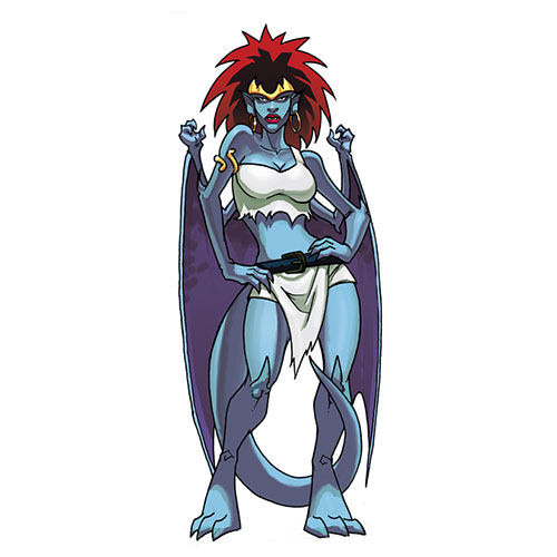 Cartoons 3 answer: DEMONA