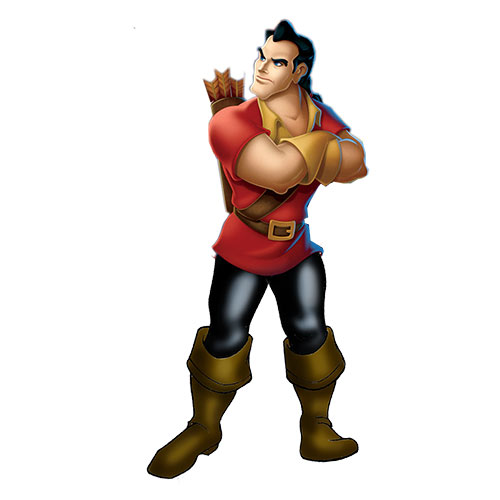 Cartoons 3 answer: GASTON