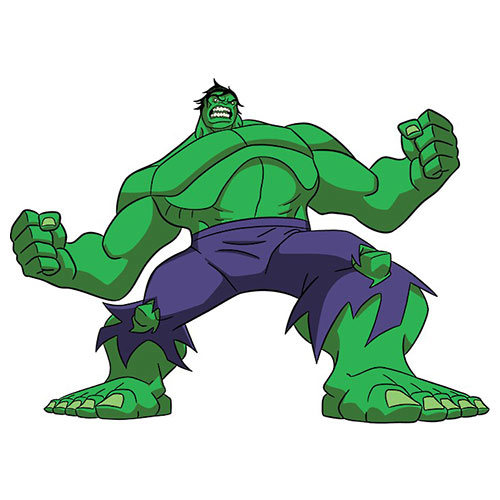 Cartoons 3 answer: HULK
