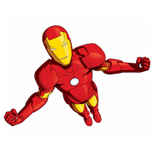 Cartoons 3 answer: IRON MAN